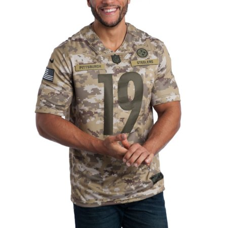 4bce37124 Camisa Pittsburgh Steelers - 19 Juju Smith-Schuster - Salute to Service