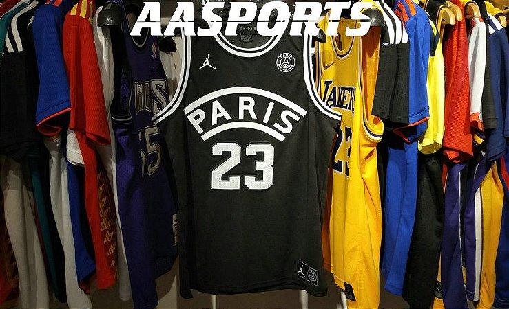 Camisa NBA Paris Saint Germain - 23 Michael Jordan
