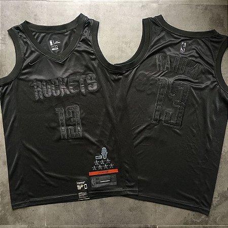 Camisa MVP - Houston Rockets - 13 James Harden - Versão Bordada