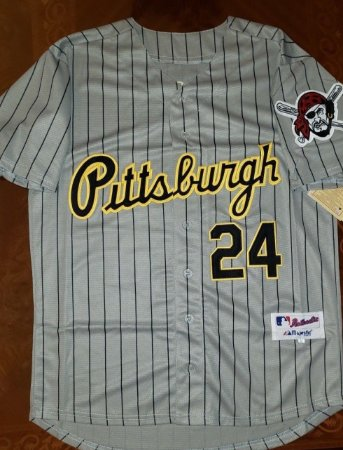 Camisa Pittsburgh Pirates - 21 Roberto Clemente - 24 Chris Archer - 55 Josh Bell - 24 Barry Bonds