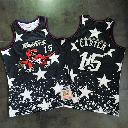 Camisa Toronto Raptors - 15 Vince Carter - Independence Day