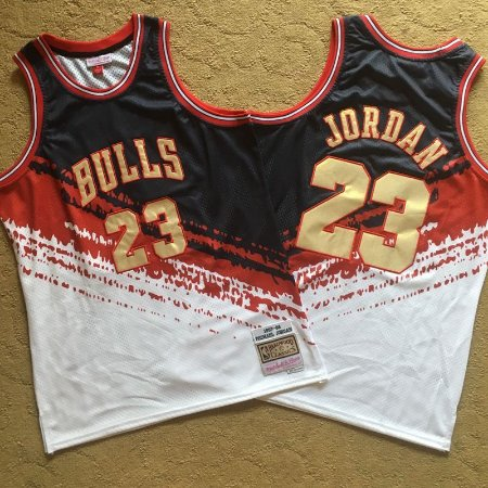 Camisa Chicago Bulls - 23 Michael Jordan - Mitchell & Ness