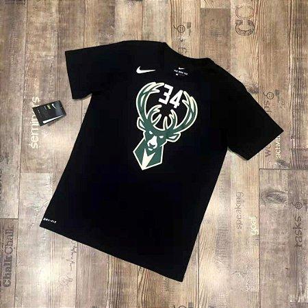 Camisa Milwaukee Bucks - 34 Giannis Antetokounmpo