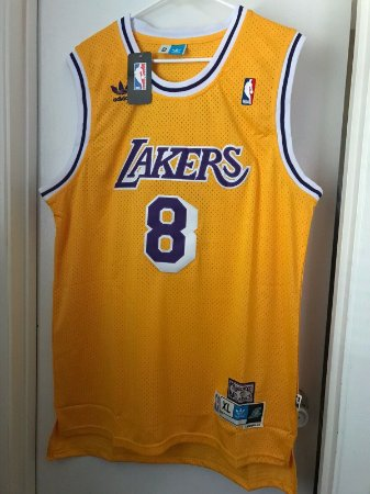 Camisa Los Angeles Lakers - 8  kobe Bryant - Hardwood Classics