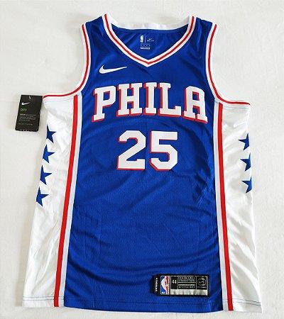 Camisa Philadelphia 76ers - 25 Ben Simmons - Pronta Entrega