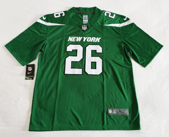 Camisa New York Jets - 26 Le'Veon Bell - Pronta entrega