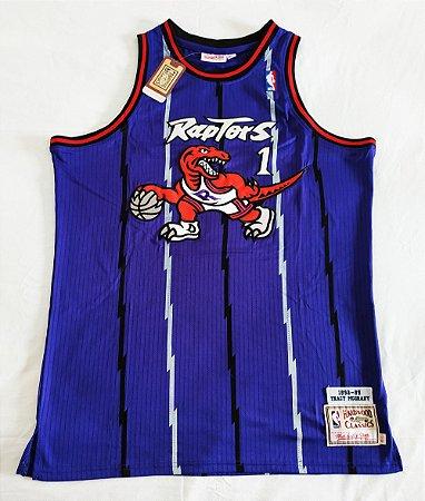 Camisa Toronto Raptors - 1 Tracy McGrady - Mitchell and ness - Pronta entrega