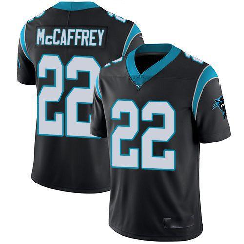 Camisa Carolina Panthers  - 22 Christian McCaffrey - 59 Luke Kuechly - 90 Julius Peppers