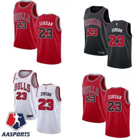 Camisa Chicago Bulls - 23 Michael Jordan - números estampados