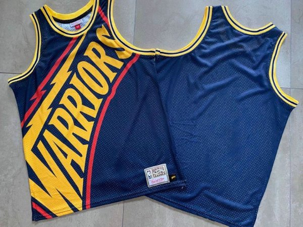 Camisa Golden State Warrions - Mitchell and Ness