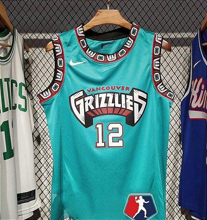 Camisa Memphis Grizzlies  - 12 Ja Morant - escolha qualquer jogador do time