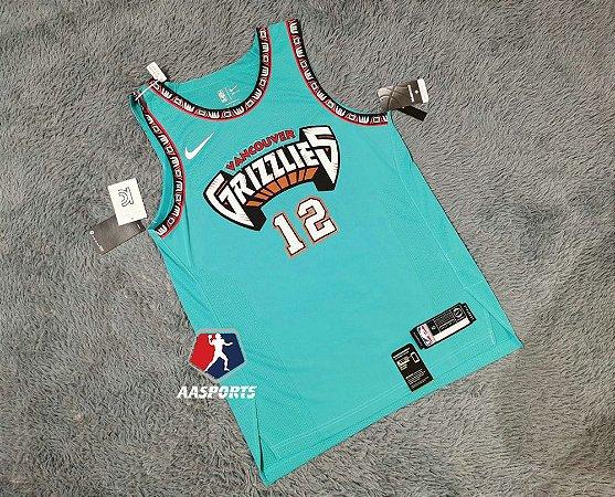 Camisa - Memphis Grizzlies - Hardwood Classic Edition - Authentic Jersey - 12 Ja Morant