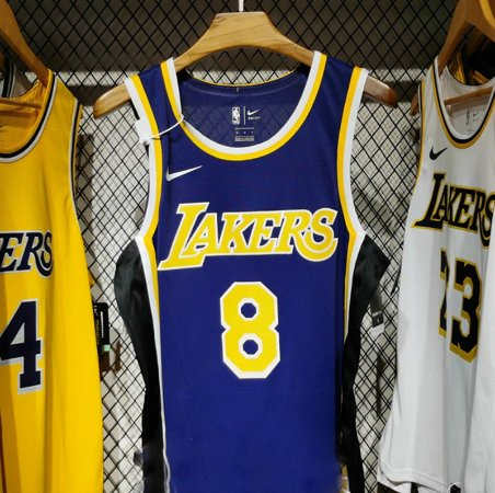 Camisa - Los Angeles Lakers - Statement Edition - Authentic Jersey - 8 kobe Bryant