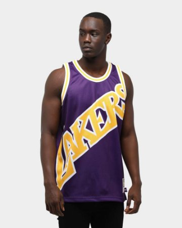 Camisa Los angeles lakers - Mitchell and Ness - 23 LeBron James - 24 kobe bryant