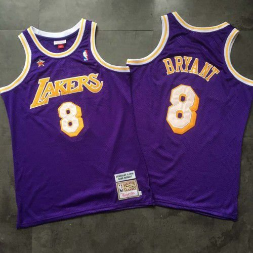 Camisa Los Angeles Lakers - 8  kobe Bryant - Mitchell and Ness