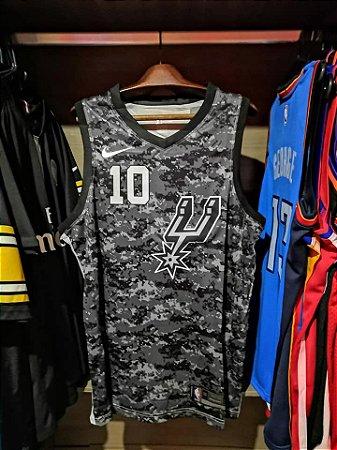 Camisa San Antonio Spurs - com personalização de nome e número