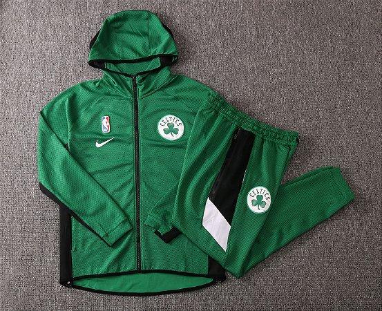 Agasalho casaco com Capuz NBA Boston Celtics Showtime Therma Flex