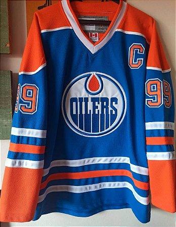 Camisa Edmonton Oilers - 99 Wayne Gretzky