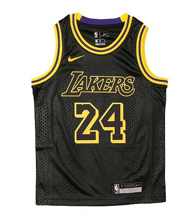 Camisa los Angeles lakers - 24 kobe bryant - 8 kobe bryant - black mamba