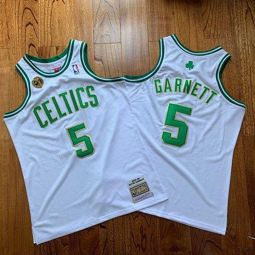 Camisa Boston Celtics - 5 Kevin Garnett - mitchell and ness