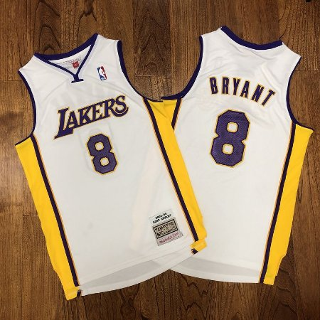 Camisa Los Angeles Lakers - #8 kobe Bryant - mitchell and ness  - 03/04