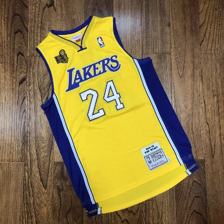 Camisa Los Angeles Lakers - #24 kobe Bryant - mitchell and ness  - 09 / 10