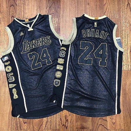Camisa Los Angeles Lakers - #24 kobe Bryant - adidas - comemorativa