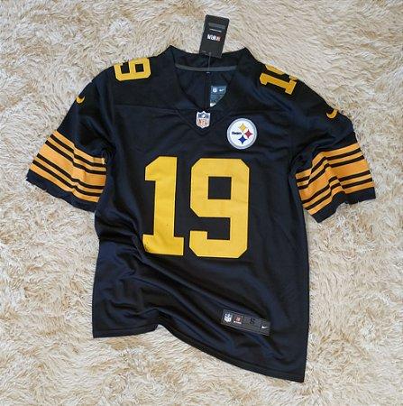 Camisa Pittsburgh Steelers - 19 Juju Smith-Schuster - Pronta Entrega
