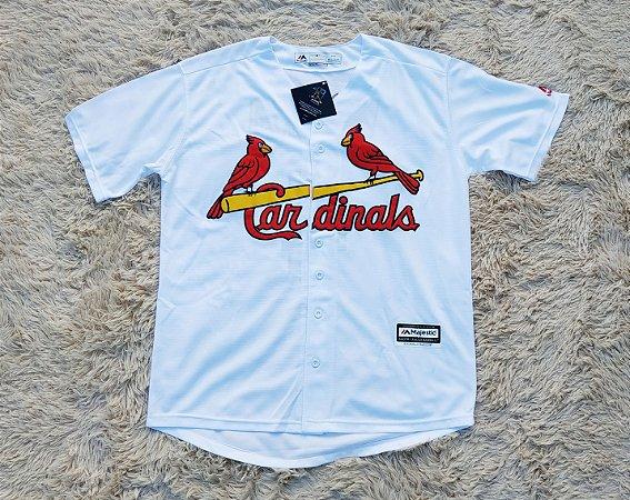 Camisa St. Louis Cardinals - 4 Yadier Molina - Pronta Entrega