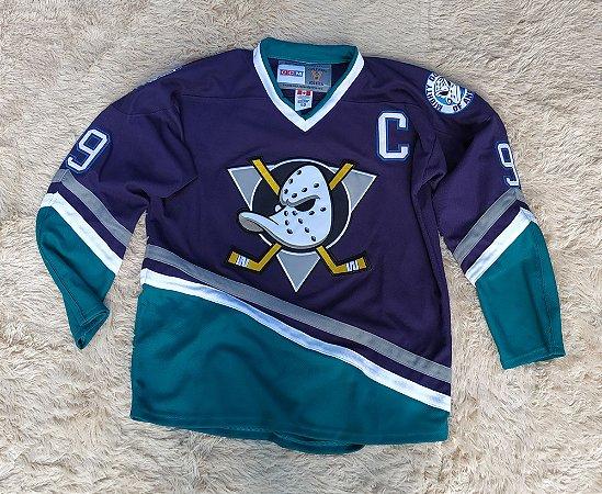 Camisa Anaheim Ducks - Super Patos - 9 Paul Kariya - Pronta Entrega