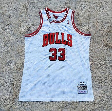 Camisa Chicago Bulls - Mitchell & Ness - 33 Scottie Pippen - Pronta Entrega