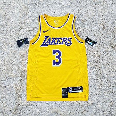 Camisa AUTHENTIC - Los Angeles Lakers - 3 Anthony Davis - Pronta Entrega