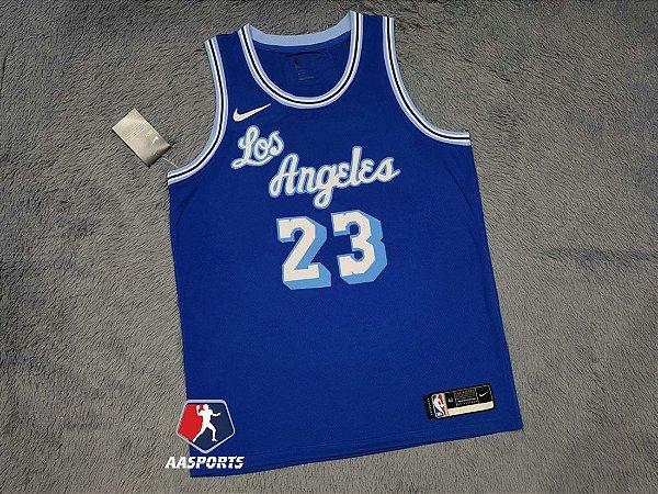 Camisa Los Angeles Lakers - 23 LeBron James - 3 Anthony Davis - 24 Kobe Bryant -  Montrezl Harrell - Dennis Schroder  - escolha qualquer jogador do time