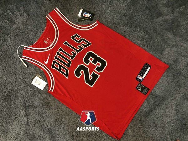 Camisa Chicago Bulls - 23 Michael Jordan - Authentic Jersey - personalizada - escolha qualquer jogador do time