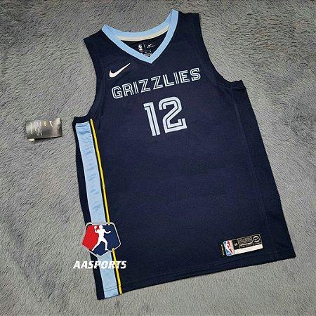 Camisa Memphis Grizzlies - 12 Ja Morant - 13 Jaren Jackson Jr. - personalizada - escolha qualquer jogador do time