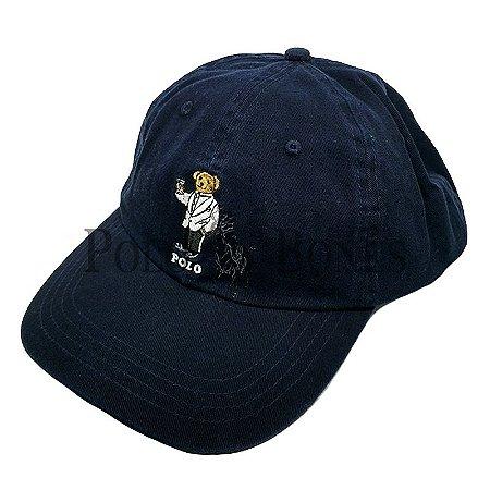 e37c77c7564d7 Boné Polo Ralph Lauren Ursinho Garçom Azul Escuro