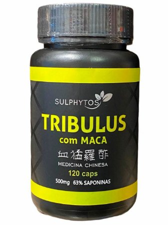 TRIBULUS COM MACA 120 CAPSULAS 63% SAPONINAS SULPHYTOS
