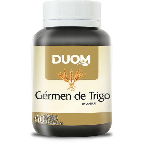 ÓLEO DE GÉRMEN DE TRIGO 60 CÁPSULAS 250 MG DUOM