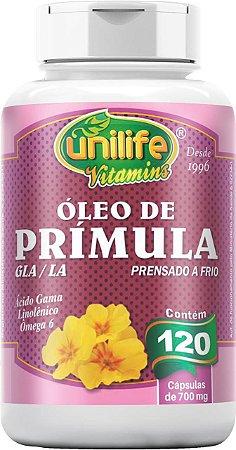 ÓLEO DE PRÍMULA 120 CÁPSULAS UNILIFE 700MG