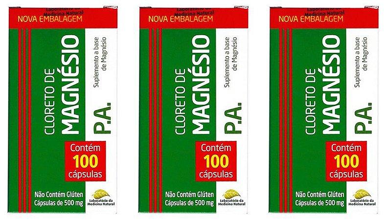 Cloreto de Magnésio PA 300 Cápsulas 500mg Medinal