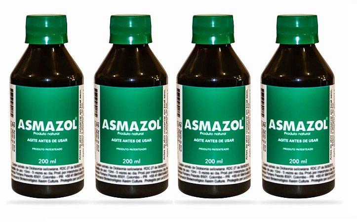 Asmazol Liquido - 4 frascos de 200ml
