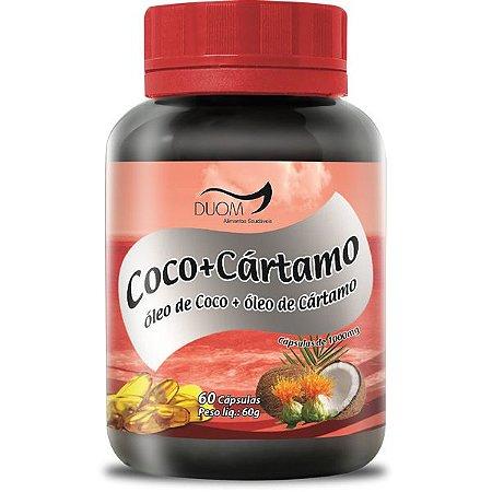 COCO + CARTAMO 1000mg 60 CÁPSULAS DUOM