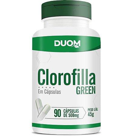 CLOROFILLA GREEN 45g 90 CÁPSULAS DUOM