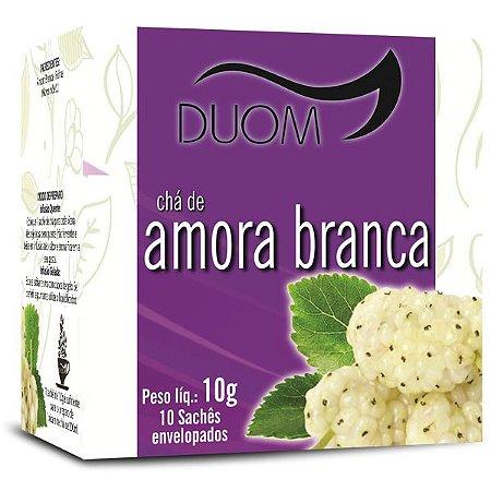 CHA AMORA BRANCA 10 SACHES