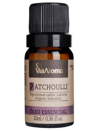ÓLEO ESSENCIAL PATCHOULLI 10ML VIA AROMA