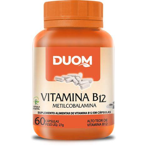 VITAMINA B12 METILCOBALAMINA 60 CÁPSULAS DUOM
