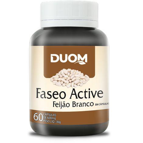 FEIJÃO BRANCO FASEO ACTIVE 60 CÁPSULAS 600MG DUOM