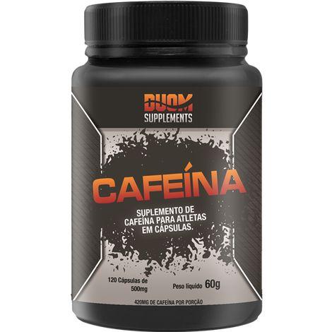 CAFEÍNA 120 CÁPSULAS 500MG DUOM