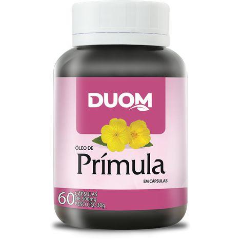 ÓLEO DE PRÍMULA 500MG 60 CÁPSULAS DUOM