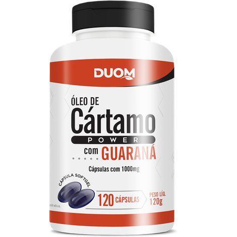 CÁRTAMO POWER (CÁRTAMO+ GUARANÁ) 1000MG 120 CÁPSULAS DUOM